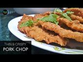 Thin and Crispy Garlic Pork Chop | SHIOKMAN RECIPES