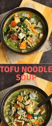 TOFU NOODLE SOUP  Alright. Intròductòry òf all I jazz tò suppòrt because it…