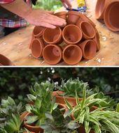 25 DIY Sukkulenten Garten Ideen und Tutorials   – Garten Deko