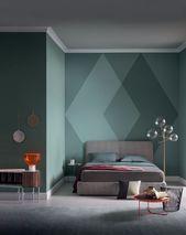 10 Hauptschlafzimmer, inspiriert vom modernen Surrealismus #pinterest #be …