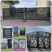 Davinci Metal Gate Driveway Gate Metal Gates Sheet Metal Work