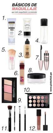 Los productos básicos de maquillaje que todo maquillador recomienda – maquillaje