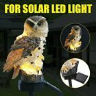 Solar Eule LED Solarleuchte Garten Eulen Gartenbeleuchtung Solarlampe Solarlicht