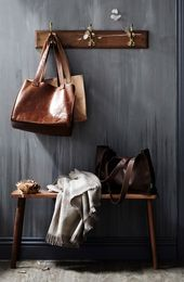 beautiful styling for leathergoods new sydney label saint crispin via the design files - Enduit Color