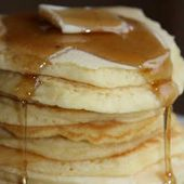 No Milk #pancakes with All-Purpose Flour, Oil, Salt, Baking Powder, Sugar, Water…   – pancakes recipes