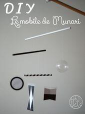 DIY Montessori: Le mobile de Munari   – Bébé
