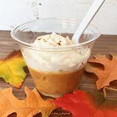 Pumpkin Pie In A Cup In The Classroom – Thanksgiving crafts preschool