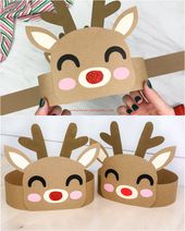 Reindeer Headband Craft For Kids
