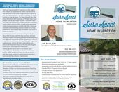 Surespect Home Inspection Home Inspection Business Cards And Flyers Inspect