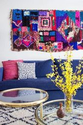 20 Ways a Bright Couch Can Transform a Room