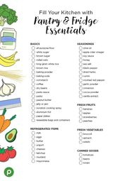 Pantry essentials – #essentials #Pantry