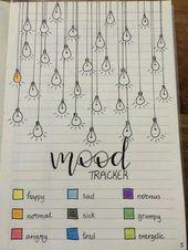 18 idées de mood trackers