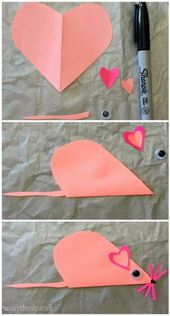 List of Easy Valentine's Day Crafts for Kids – Crafty Morning