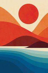 Seaside Art Print by Jay Fleck – #art #Fleck #Jay #plakat #print #Seaside