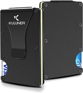 KULUNER Money Clip, Front Pocket Wallet, Authentic Minimalist Metal RFID Blockin…