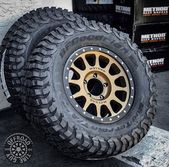 Boom! All-New @bfgoodrichtires #KM3 wrapping a #MRW305 Bronze NV. R/F: @offroad_…