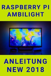 Raspberry Pi Ambilight Tutorial German | Ambilight DIY | Hyperion | Raspberry Pi Projekt – Schritt f…