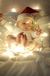 40+ Adorable Baby Weihnachten Bildideen – Santa Baby –  entzückende und niedlic… – Miss Maryjane Hayes