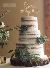 Saftige Hochzeitstorten | Sukkulenten bilden zusammen mit Hochzeitstorten immer eine …   – Wedding Cakes