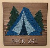 Camping Tent, Campsite, Outdoors, Nature Art, Travel, Explore, Happy Camper, Pin…