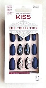 Kiss 24 Glue On Halloween Nails The Collection Medium 76459 Limited Edition Ebay Halloween Nails Gel Glue Nails