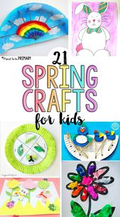 21 of the Greatest Spring Crafts for Children