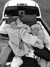 fill a truck bed full of pillows and blankets and drive in the middle of nowhere to go see Stars