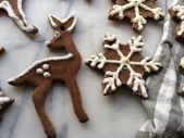 """Gingerbread"" Salt Dough Ornaments – Brookly…"