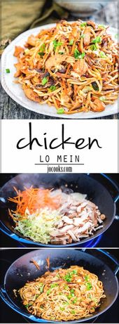 Chicken Lo Mein | Easy Chinese Recipes