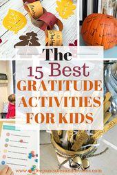 Thanksgiving-Dankbarkeitsaktivitäten für Familien – Fall Activities with Family
