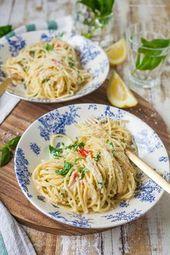 Mondial meilleur spaghetti au citron   – Kochen