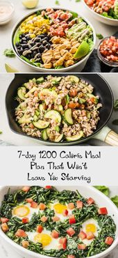 For simplicity and great-tasting options, check out this 7-day 1200 calorie meal…