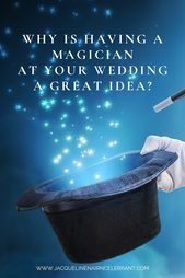 Kids and magicians at your wedding … a magical combination!