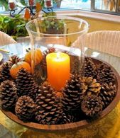 34 Easy DIY Thanksgiving Centerpieces Ideas to Your Guests