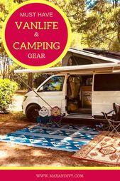 Van life & camping equipment – Mes meilleurs choix  – Camping Backpack