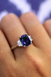27 Magnificent Sapphire Engagement Rings   – A girls best friend