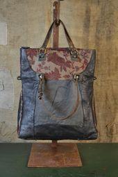e79d361df0859 Fashion Women Geometric Denim Tote Handbag Shoulder Bag Satchel Messenger  Purse