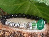 Items similar to Spiritual Bracelets, Men's Bracelet, Stretch Bracelet, Handmade, Owl Bracelet, Gemstone Magnetic Tigereye, Bohemian Bracelet,Carnelian,Lava on Etsy