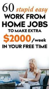 51 Legit Work From Home Companies That Pay Weekly …