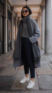 10 süße Herbst Outfits Ideen für Frauen #street…