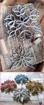 DIY Paper Scroll Christmas Crafting Ideas & Projects Instructions  – DIY Papier
