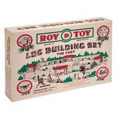 Roy Toy Log Building Set The Fort Number 10 RTMBF