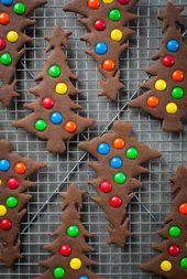 Galletas de árbol de navidad de pan de jengibre   – !  Recipes and Food  !