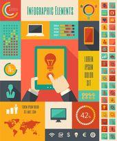 Technology Infographics Elements