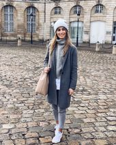 Total gray outfit