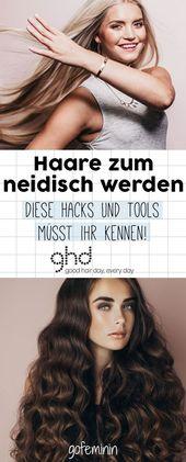 Haare zum Neidischwerden: 4 Hacks für umwerfend schöne Frisuren