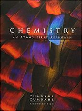 Chemistry An Atoms First Approach 2nd Edition By Steven S Zumdahl Chemistry Chemistry Textbook Atom