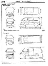 Mitsubishi Delica L300 Workshop Repair Manual Pdf Repair Manuals Mitsubishi Delica