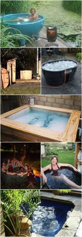 12 Relaxing And Inexpensive Hot Tubs You Can DIY In A Weekend – #12 #à #And #Ca… – Cooking Ideas and Recipies by Klaus