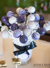 Trend Alert! Cake Pop Wedding Cakes #cakepopbouquet sweet sixteen cake pops | br… – Utina